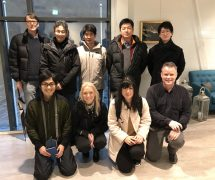 Japanese and Norwegian researchers and students were welcomed at Lerøy Seafood's smolt facility in Bjørsvik. Photo: Lerøy Seafood.